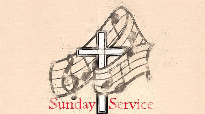 Sunday Service – 21st July 10.30am