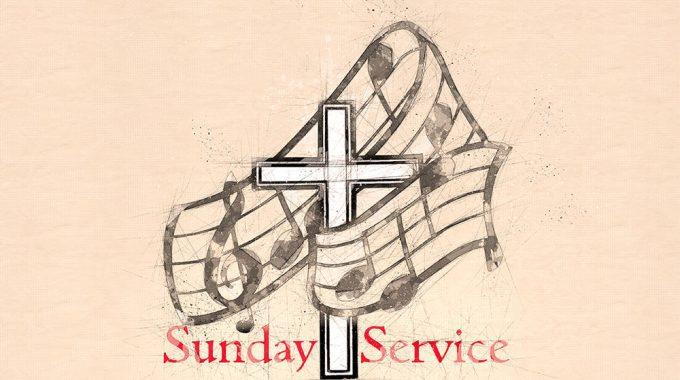 Sunday Service- 30th June 10.30 Am