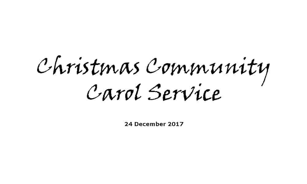 Christmas Community Carol Service | Ridgeway Community Church - Redditch