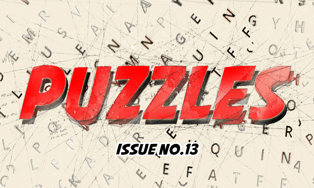 Puzzles Issue No 13