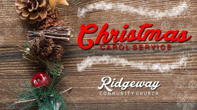 Christmas Carol Service 2018