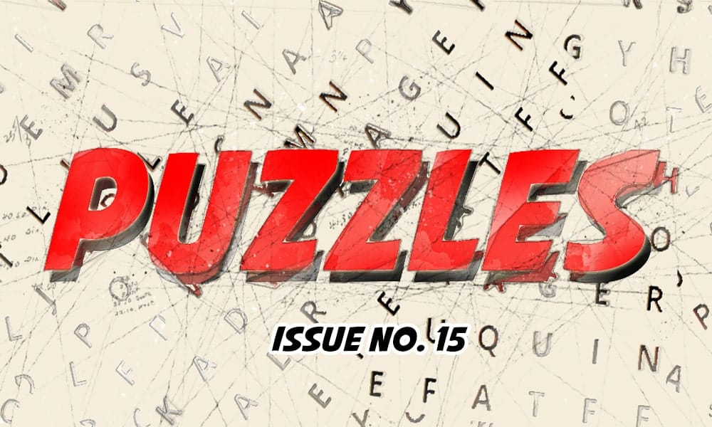 Puzzles Issue No 15