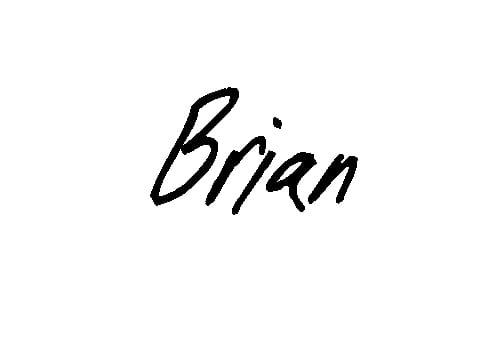 Brian's Testimony