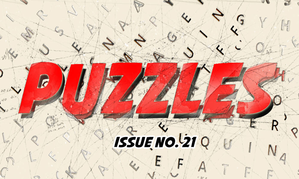 Puzzles Issue No 21