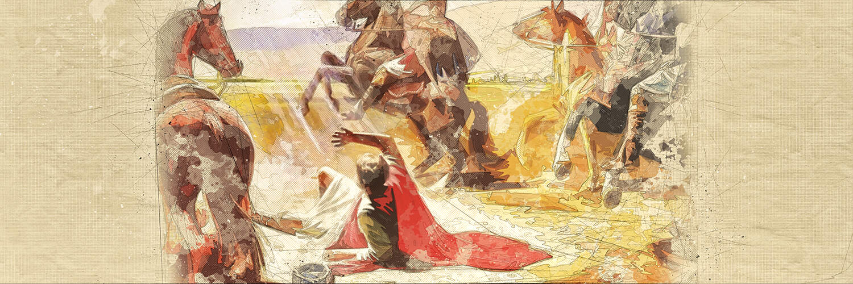 Jesus comes to Paul