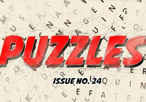 Puzzles Issue No 24