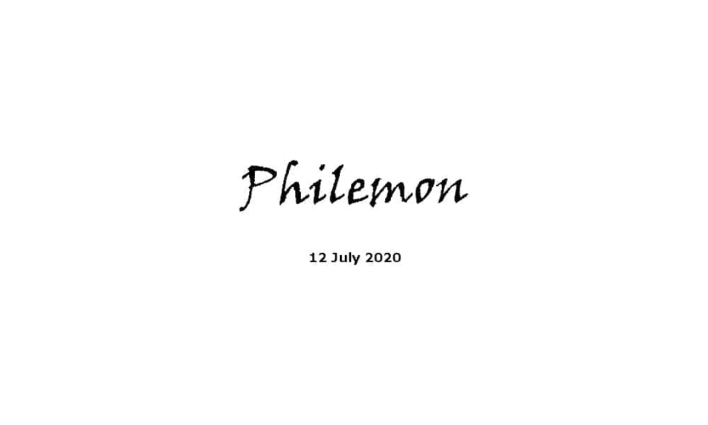 Reading - Philemon