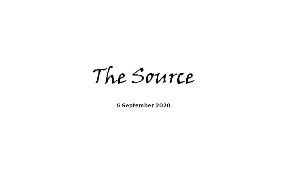 Sermon - 6-9-20 - The Source