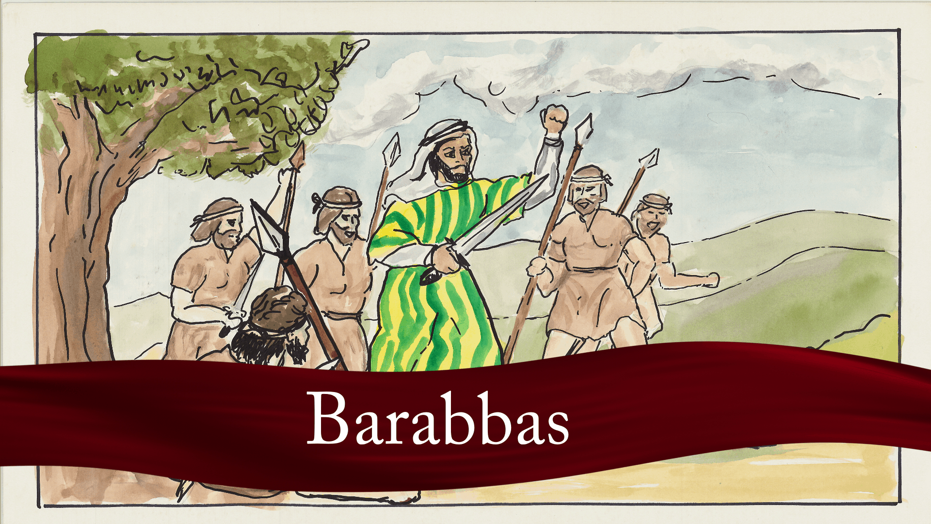 The Storyteller - Barabbas