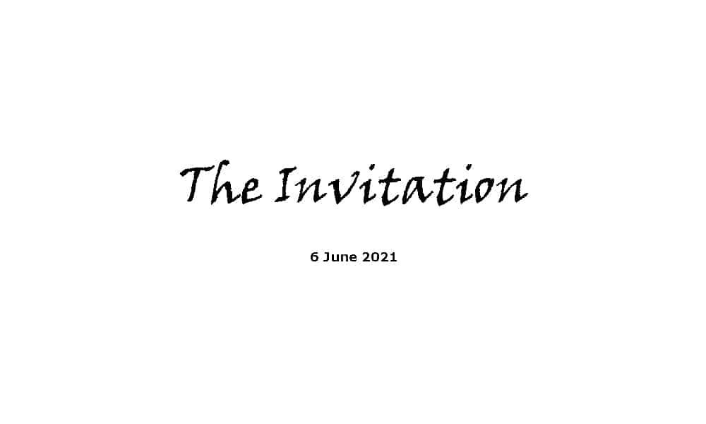 The Invitation - 6-6-21